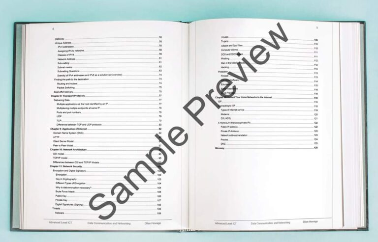 al data communication and networking sample preview 1