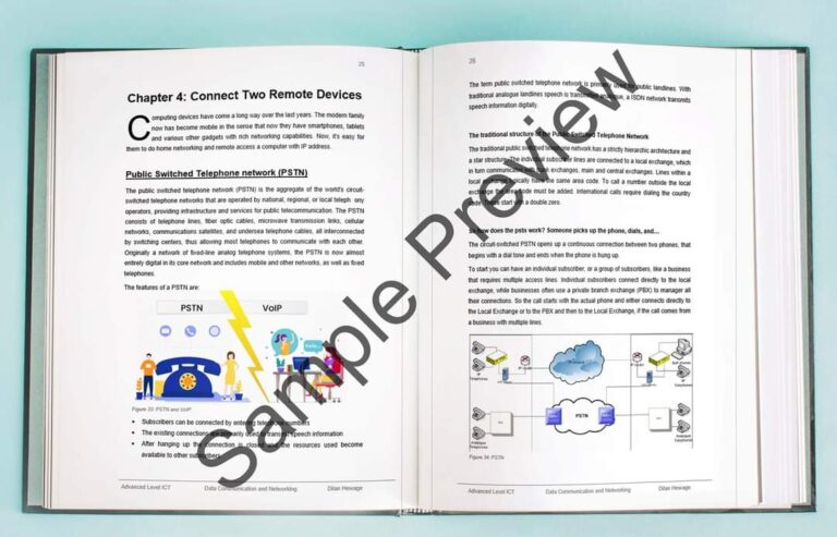 al data communication and networking sample preview 3