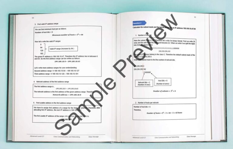 al data communication and networking sample preview 4