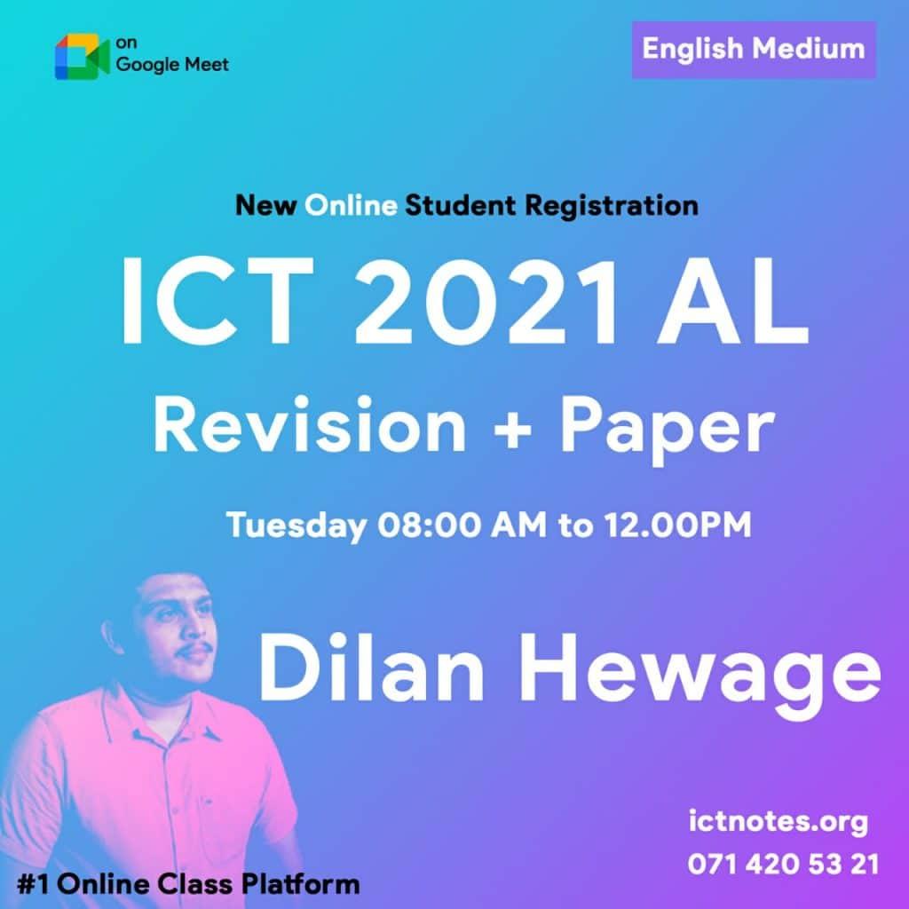 online ict classes
