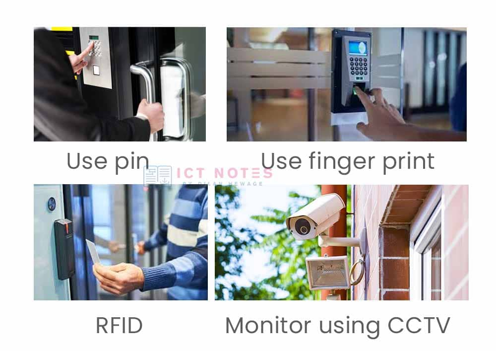 physical access control methods
