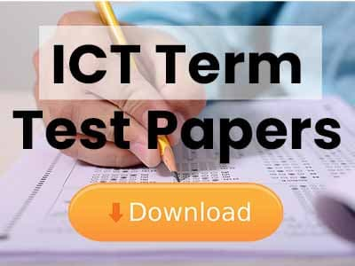 ict term test papers free download