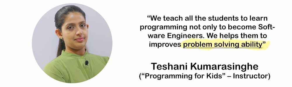 programming for kids by teshani kumarasinghe 1