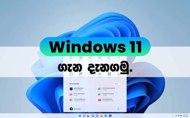 windows 11 sinhala